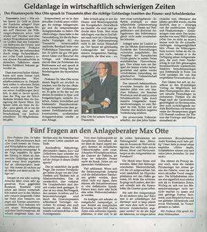 Snippet Traunsteiner Tagblatt