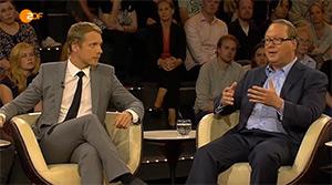 Max Otte mit Oliver Pocher bei Markus Lanz